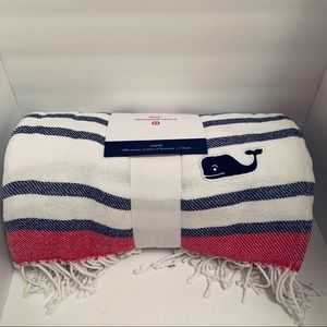 NWT Vineyard Vines for Target soft cotton throw